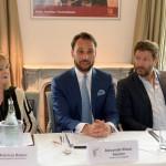 Patricia Riekel, Alexander-Klaus Stecher & Francis Fulton-Smith  Foto: Schneider-Press/W.Breiteneicher