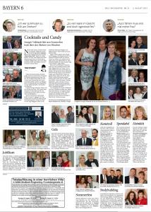Welt am Sonntag, 2. August 2015, über Die Goldene Deutschland