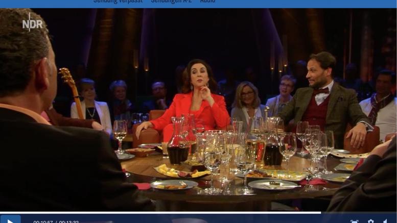 Judith williams alexander klaus stecher in der ndr talkshow die goldene deutschland Moderatoren ndr talkshow